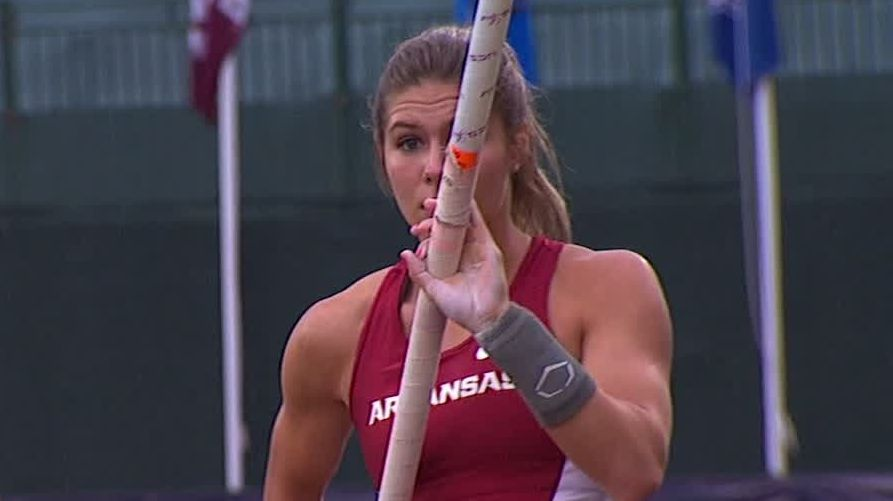 Arkansas women take team lead at NCAA outdoor track and field championships