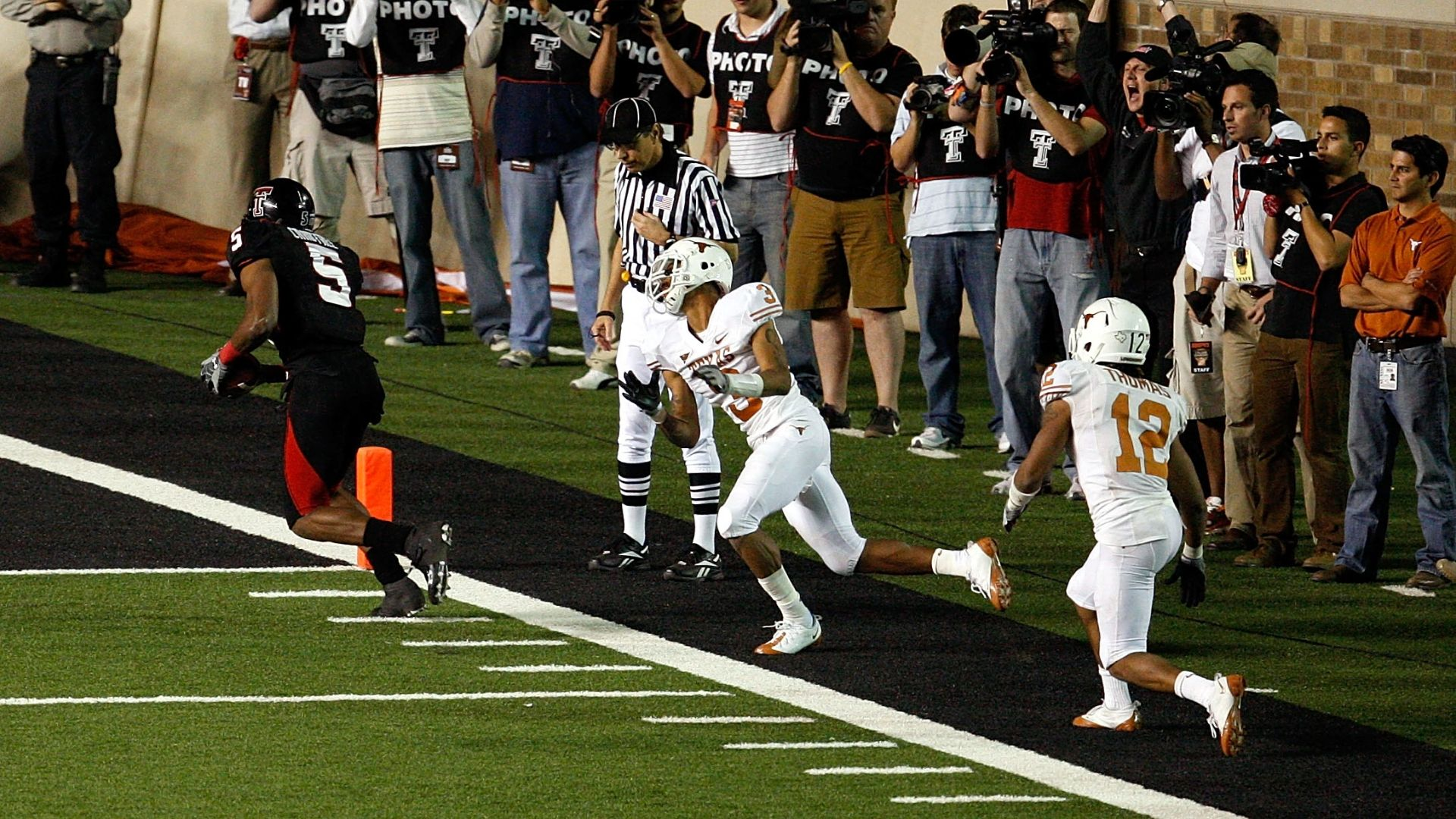 On This Date Crabtrees Clutch Catch Wins Game For Texas Tech