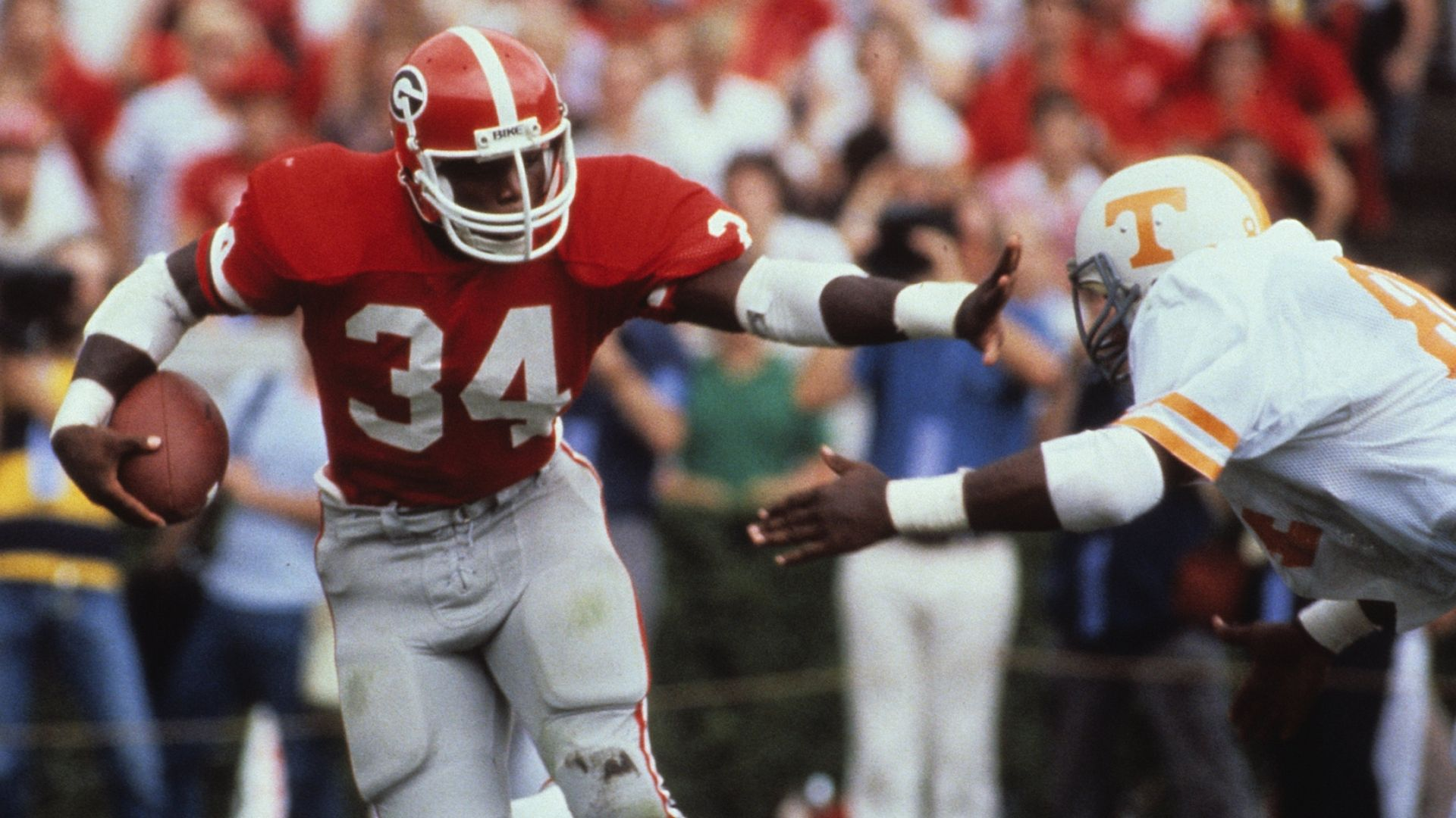 For his 55th birthday Herschel Walker's top plays at UGA ...