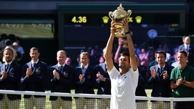 Novak Djokovic sweeps aside Kevin Anderson for Wimbledon title