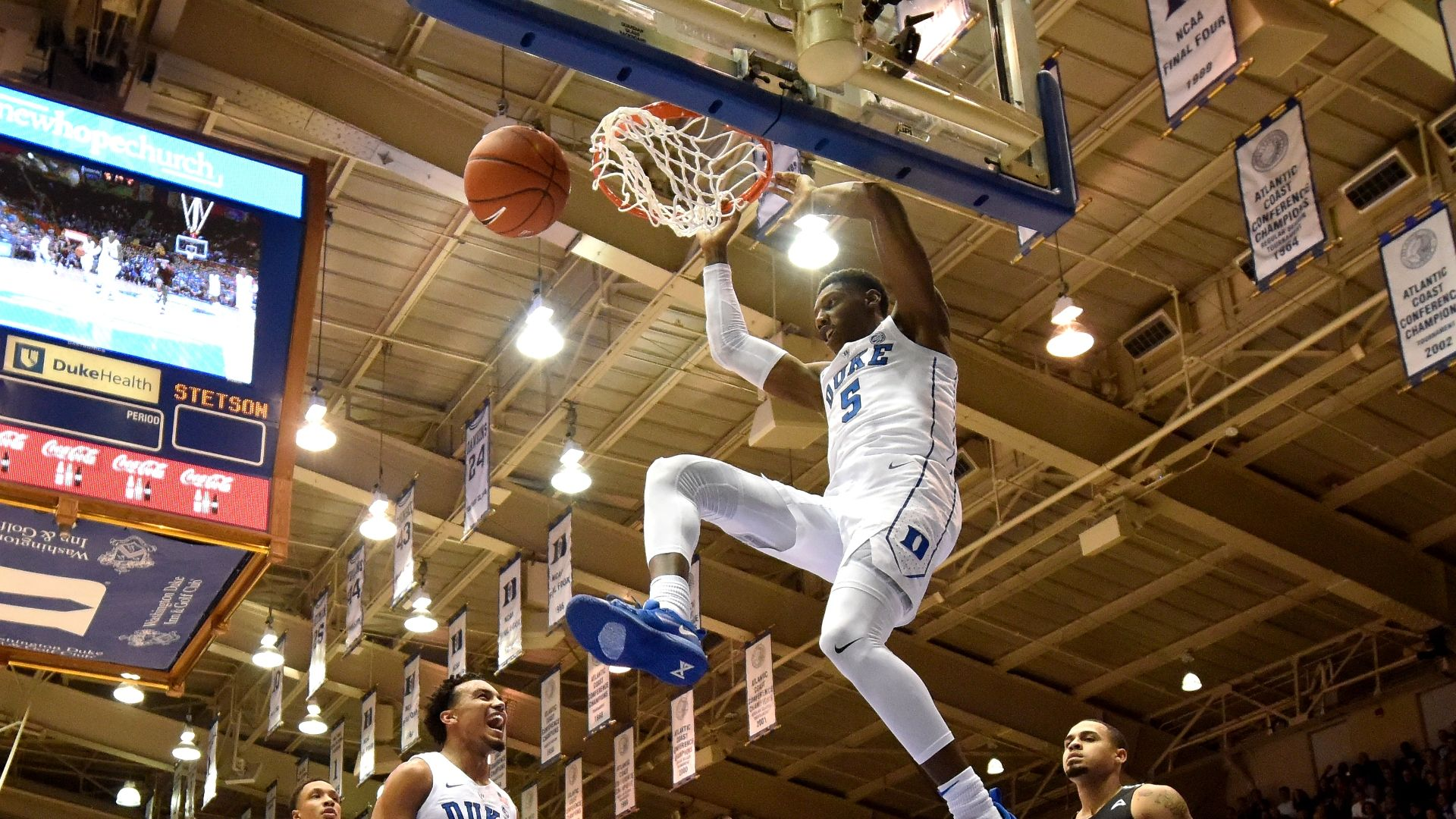 Duke Puts On Dunk Show In Blowout Win Over Stetson