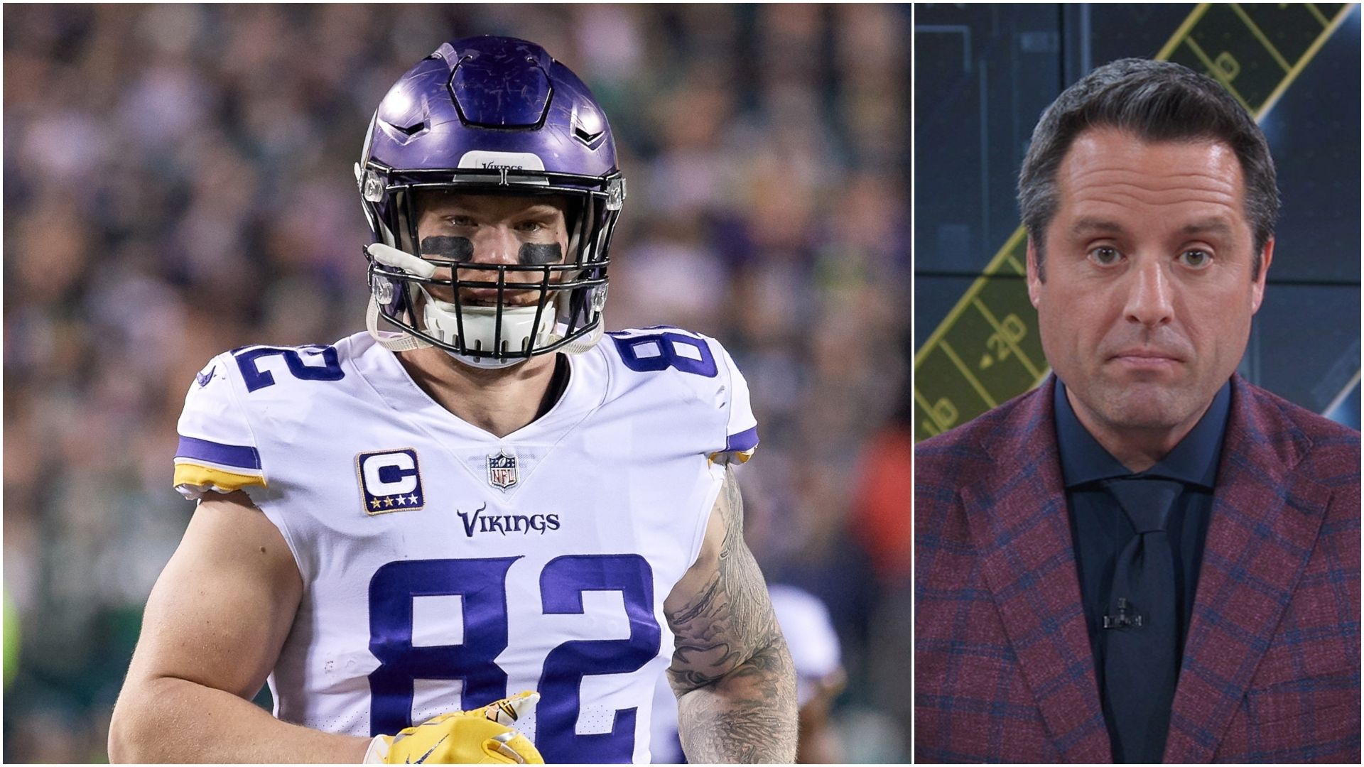 Vikings' Kyle Rudolph at crossroads: Chances of deal, trade options, more