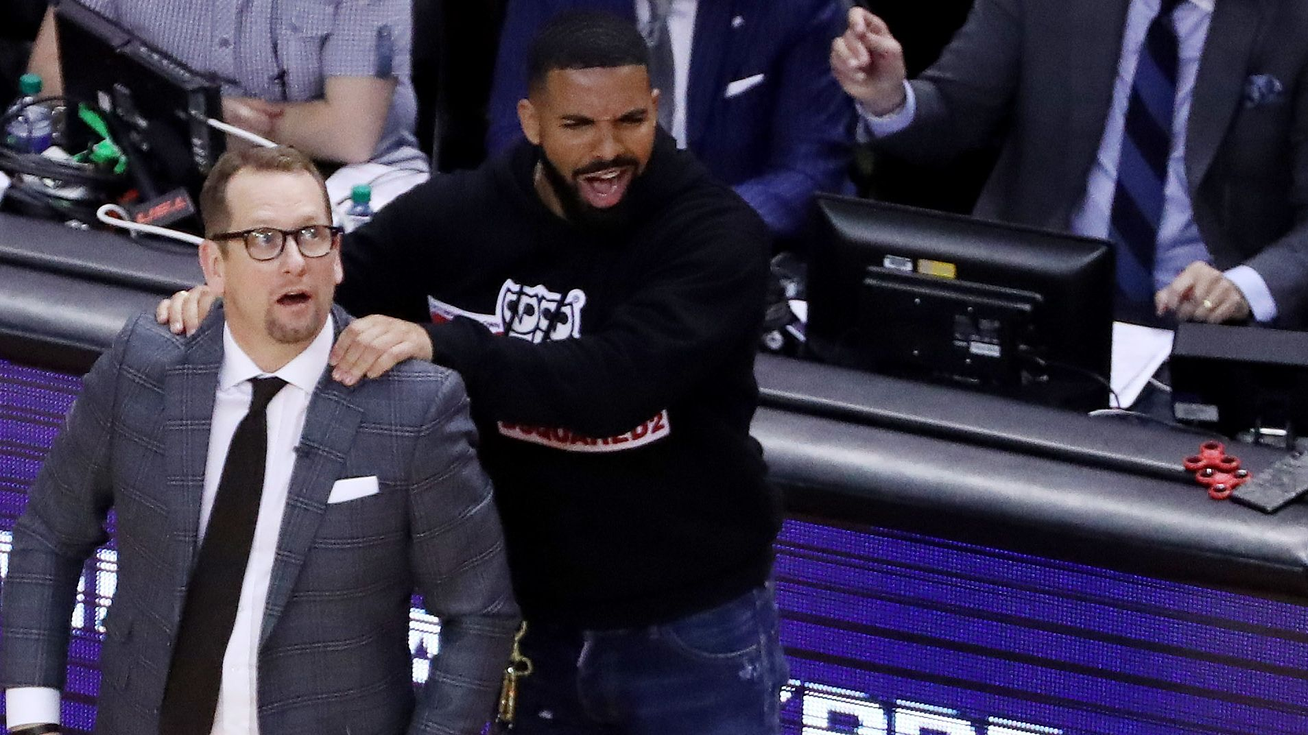 Budenholzer miffed by Drake antics; rapper replies