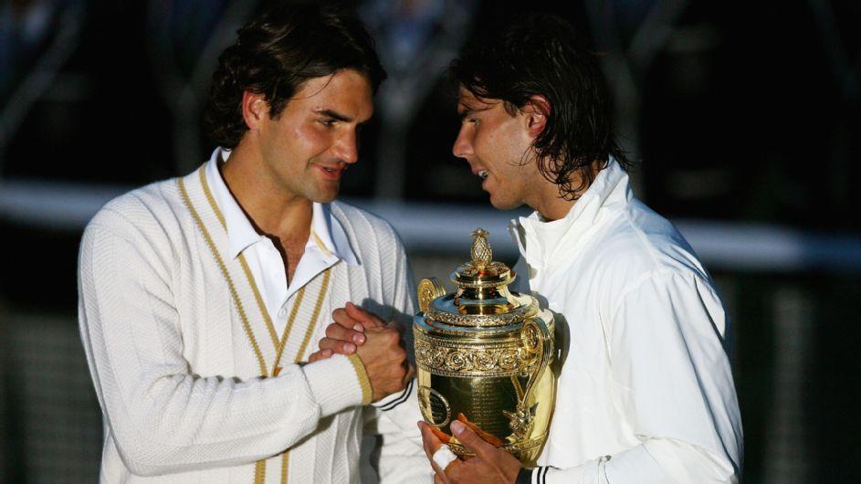 Federer vs. Nadal at Wimbledon brings back memories of epic 2008 final