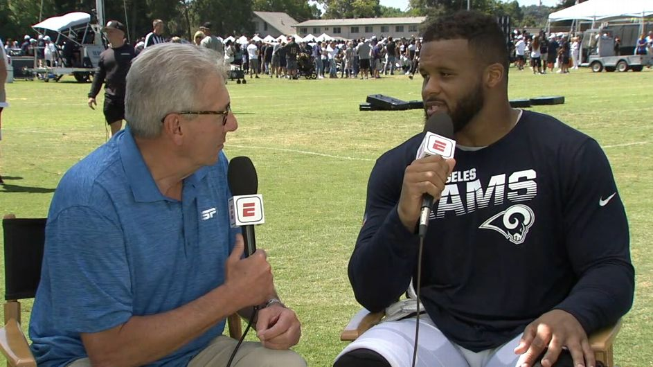 Rams' Aaron Donald loves training camp and that's bad for everyone else