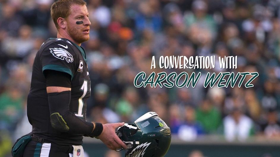 Carson Wentz was burdened and in pain. Here's how he left that behind