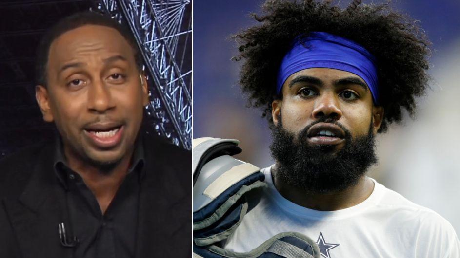 Agent: Elliott irked by Jones' 'Zeke who?' quip