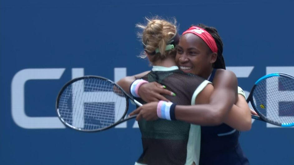 Coco, McNally into 3rd round of US Open doubles
