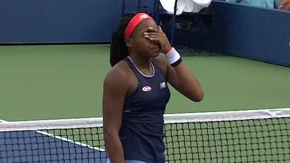 Despite lopsided US Open loss, 'McCoco' has the name and the game