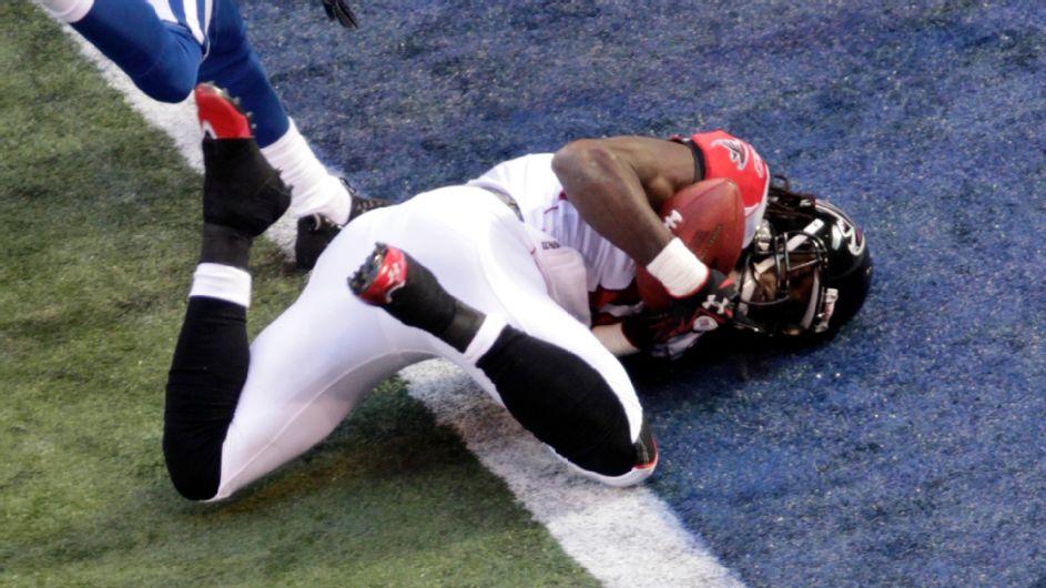 Inside Julio Jones' first NFL touchdown that was almost taken away