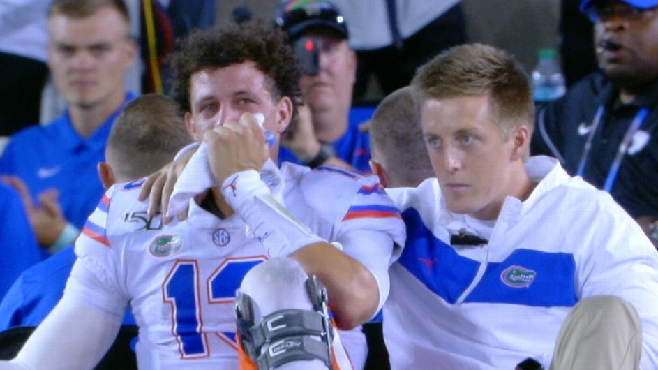 Gators QB Franks to have surgery, out for season