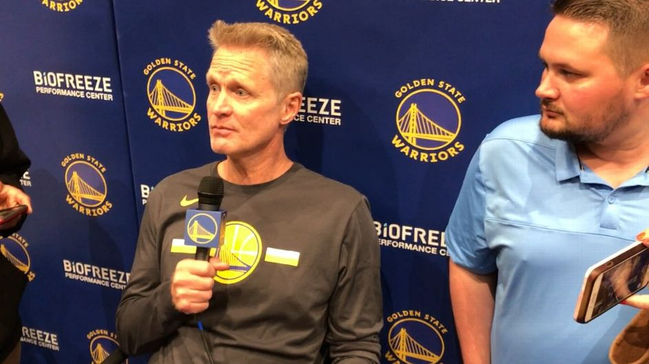 Warriors coach Steve Kerr says Stephen Curry is at his peak physically and mentally