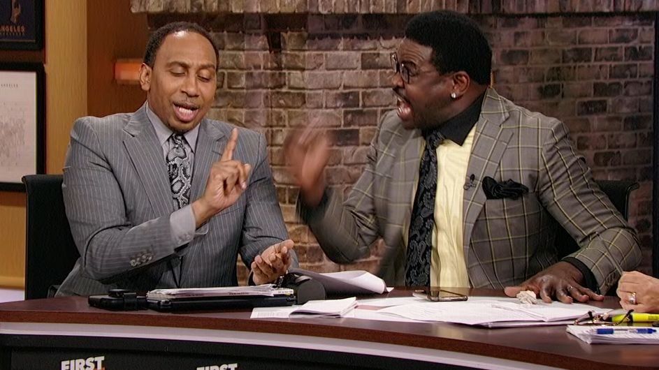 Irvin gets heated defending the Cowboys to Stephen A. - ESPN Video