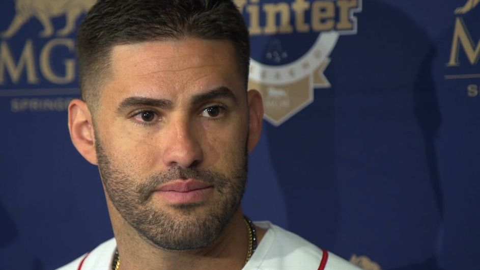 J.D. Martinez confident Red Sox will be cleared in investigation, as 'there was nothing going on here'