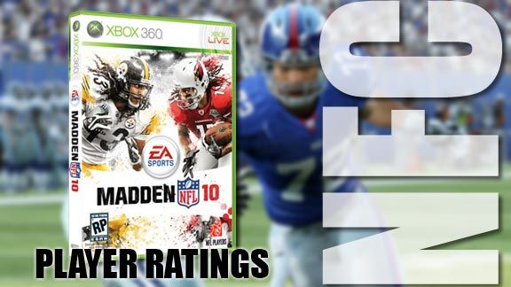 Madden NFL 10' Ratings: NFC