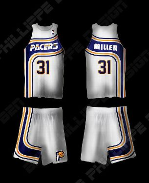 the latest 9bcc1 dc845 ESPN.com - Indiana Pacers fan has redesign for team