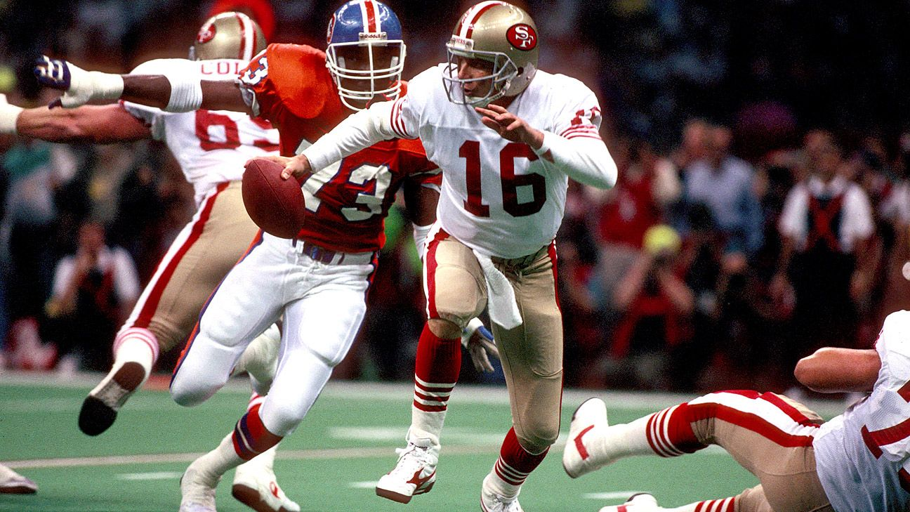 3a4812ecb 2: Joe Montana coolly dissects Denver Broncos in Super Bowl XXIV - San  Francisco 49ers Blog- ESPN