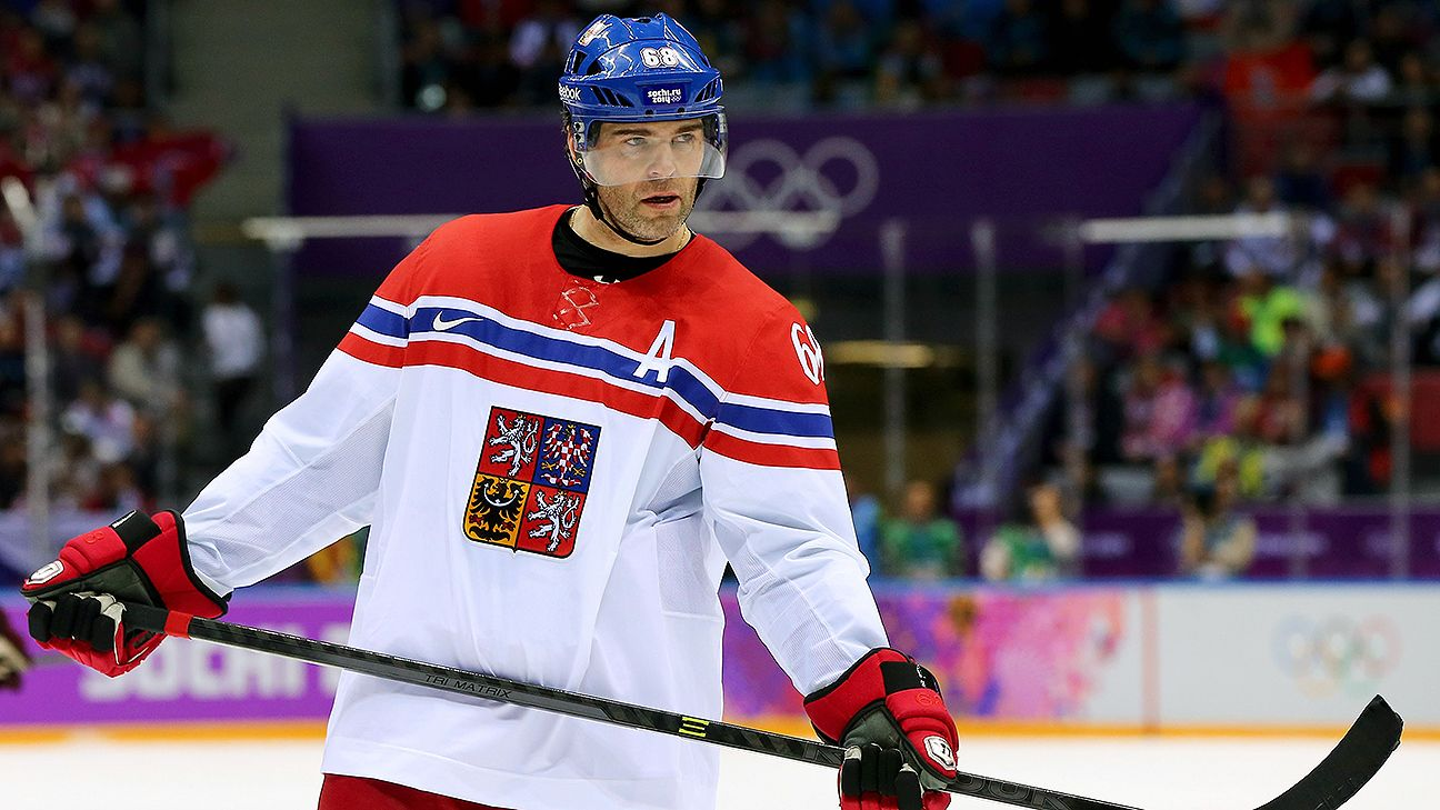 Jagr named hockey ambassador for '22 Games