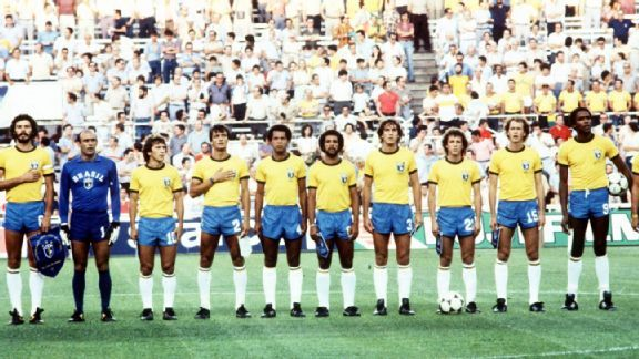 Best Teams Never To Win A World Cup Brazil 1982