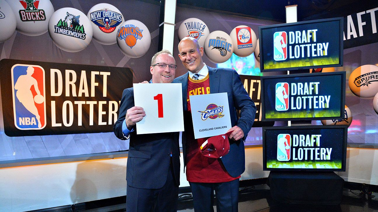 2014 NBA draft -- Cleveland Cavaliers land No  1 overall pick