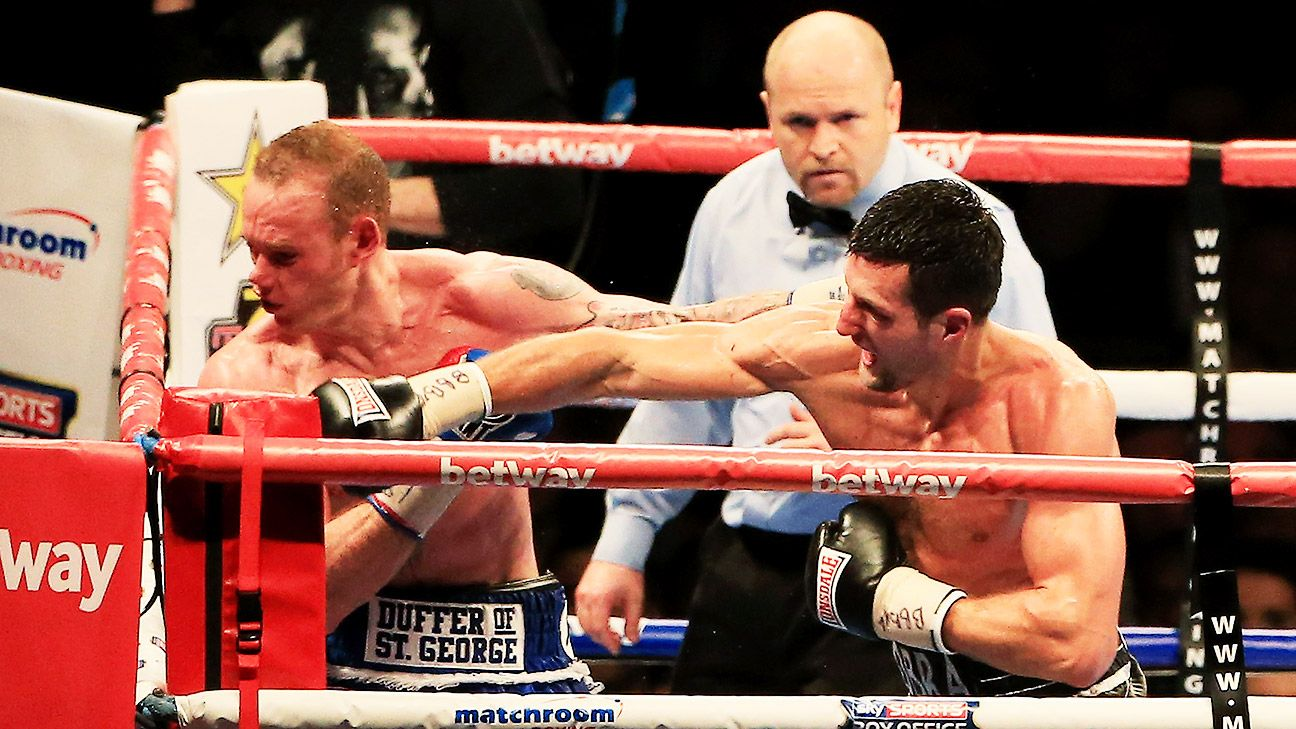 Froch KOs Groves to retain title