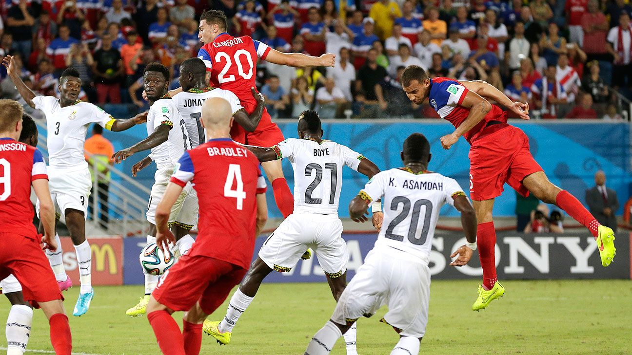U.S. finalizing friendly vs. Ghana - sources