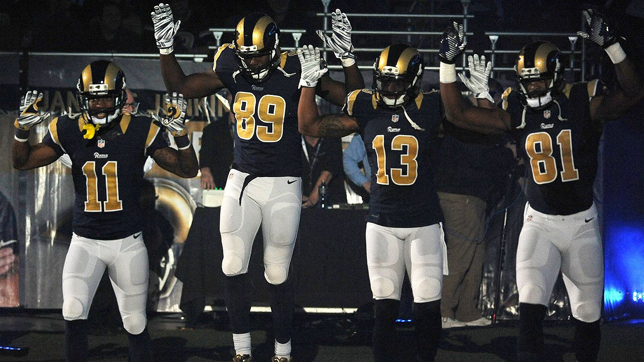 308edf5d178 Jared Cook, Stedman Bailey, Tavon Austin, Chris Givens, Kenny Britt of St. Louis  Rams heading to Ferguson to help