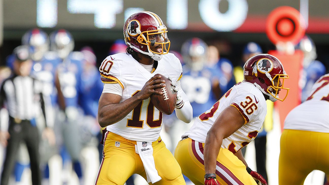 Redskins picking up option on RG III would carry risks