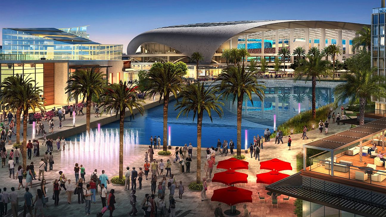 Rams owner planning L.A. stadium
