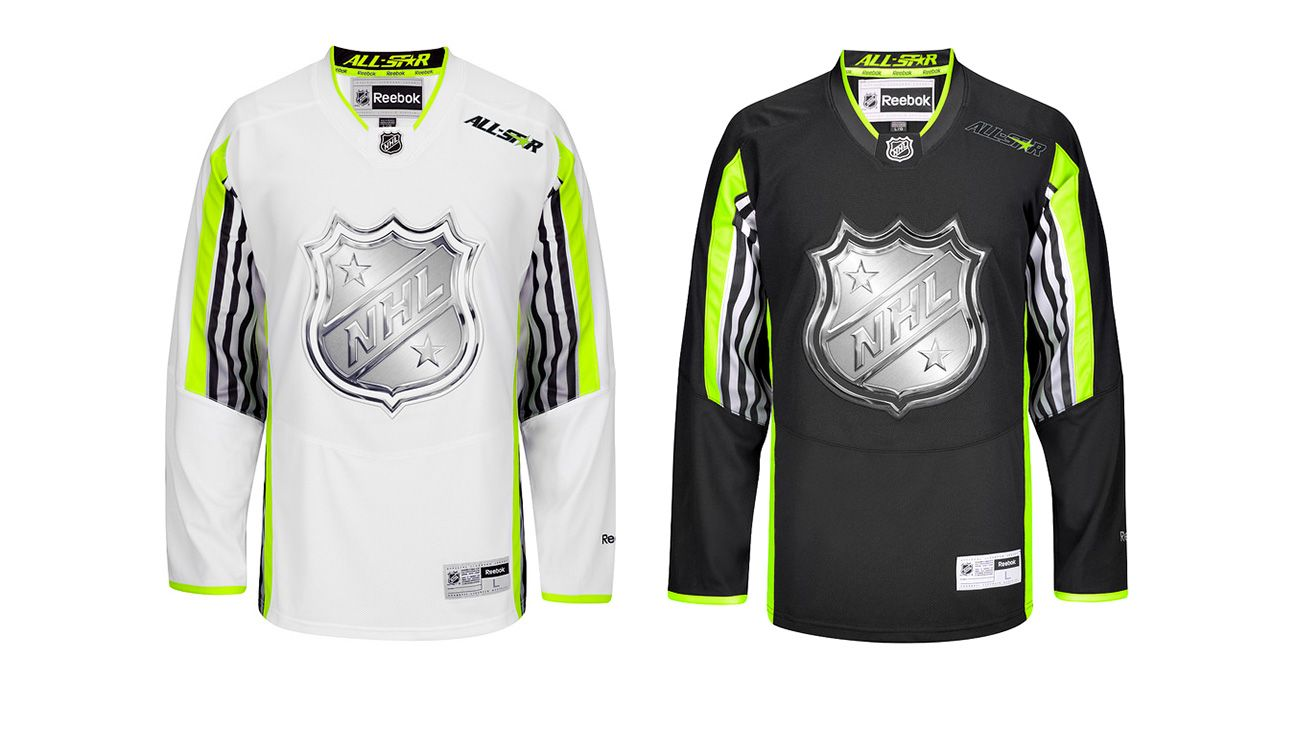 0da3daa92d1 2015 NHL All-Star Game  Neon a questionable addition to All-Star uniforms  -- Uni Watch