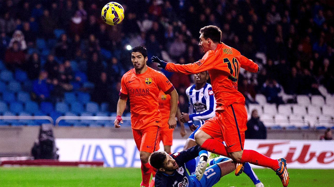 73ca6e2d1 Player Ratings  Messi and Rakitic team up to dominate Deportivo