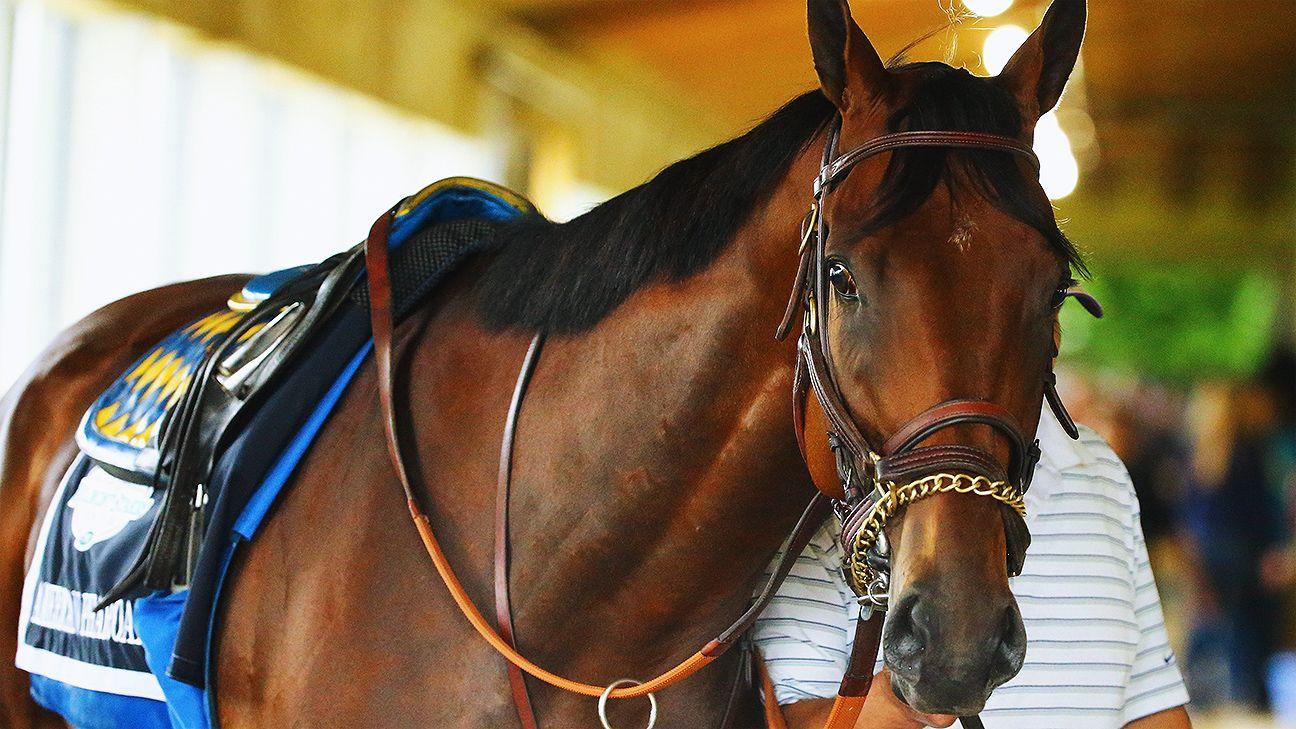 fe4ade893a2ea8 American Pharoah wins Belmont Stakes, claims Triple Crown