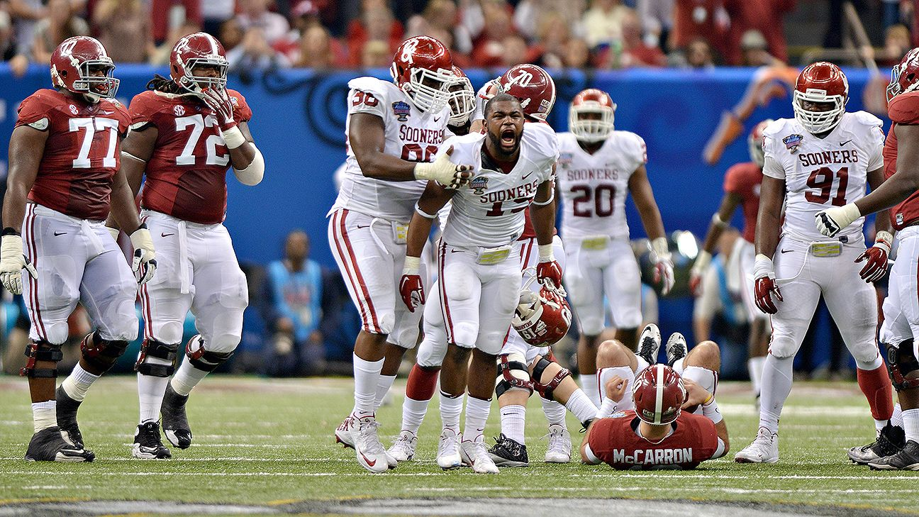 Oklahoma Sooners, Alabama Crimson Tide could be set for a ...