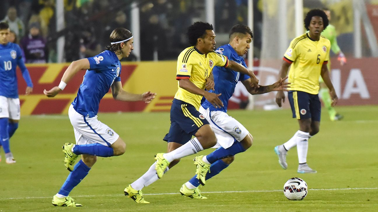 Brazil vs. Colombia - Football Match Report - June 17, 2015 - ESPN