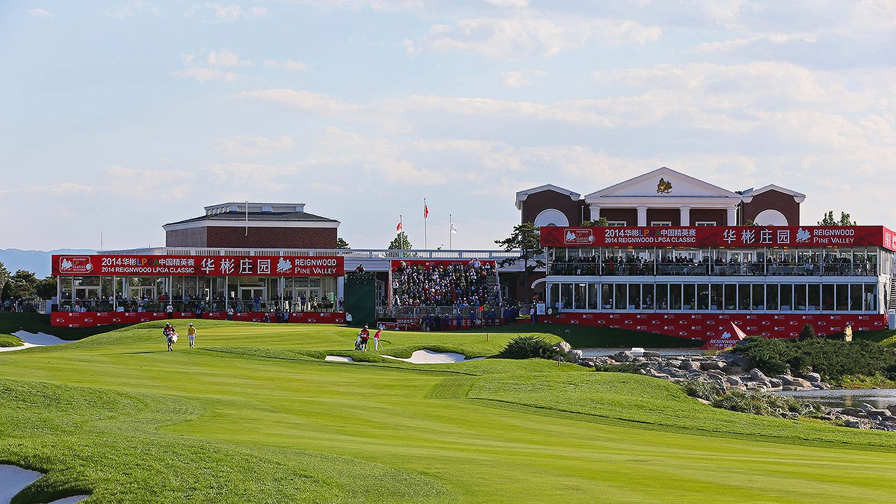 Reignwood Pine Valley LPGA Classic in China will not be ...