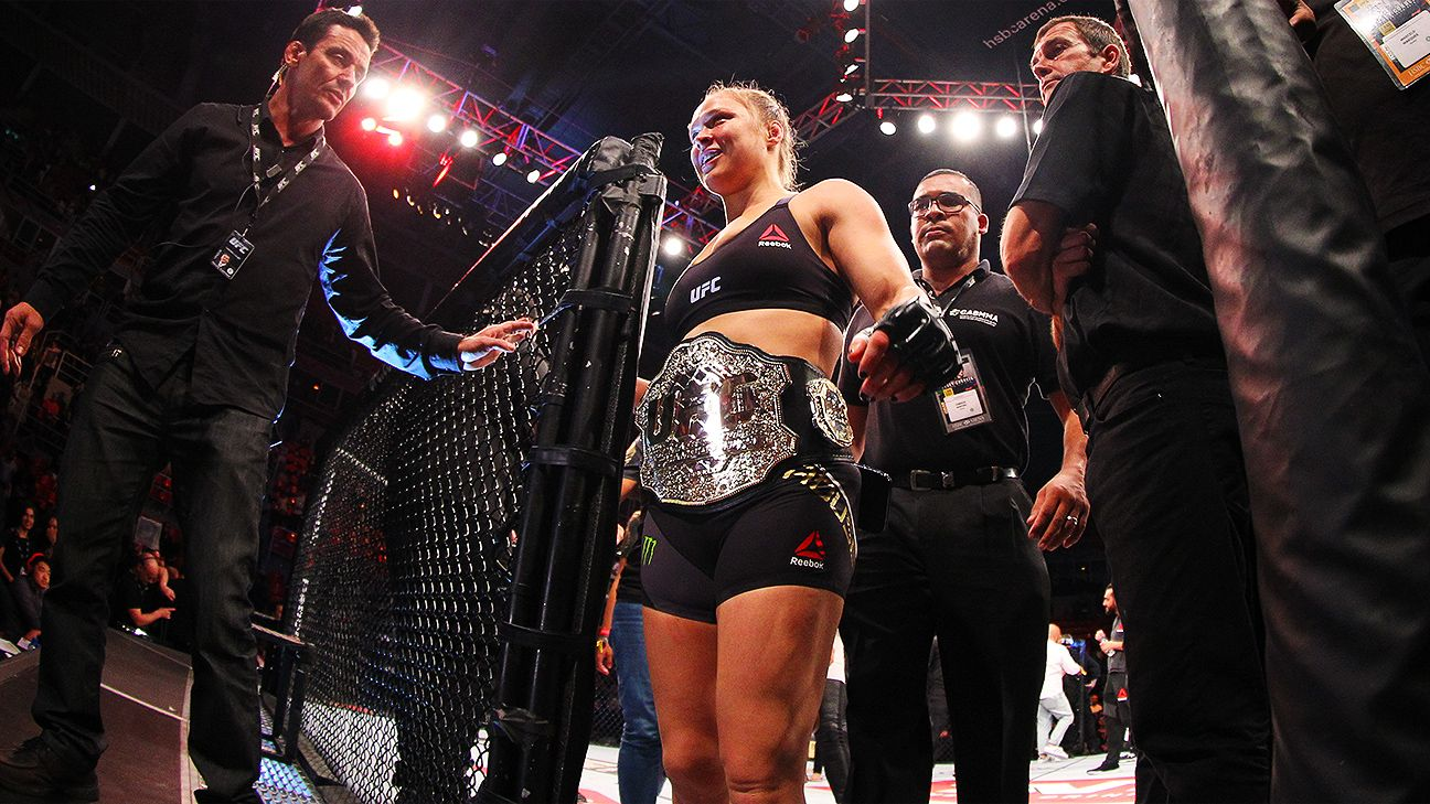 Rousey: Pummeling of ex was in self-defense