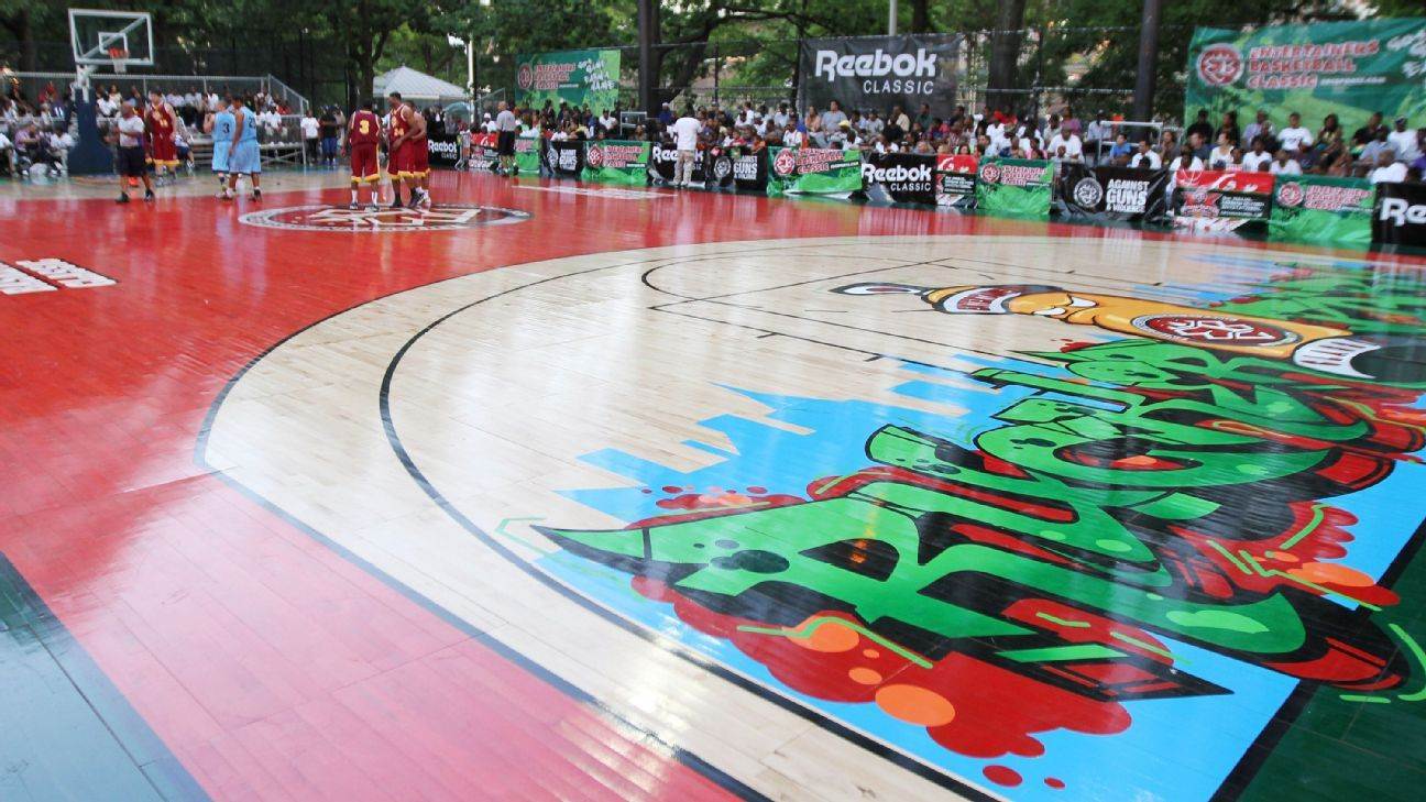 NBA players' union to help renovate court at Rucker Park