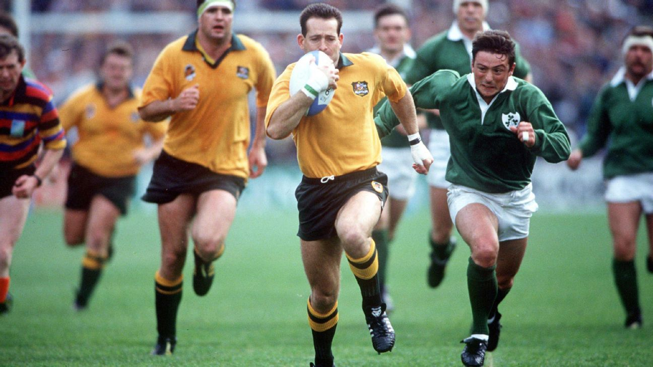 David Campese Wallabies 1991 Rugby World Cup Greg Growden