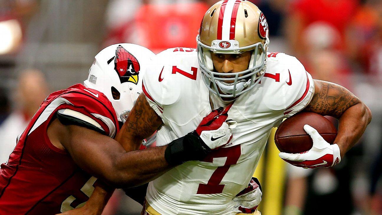 Joe Montana tells 49ers to let Colin Kaepernick run the ball more