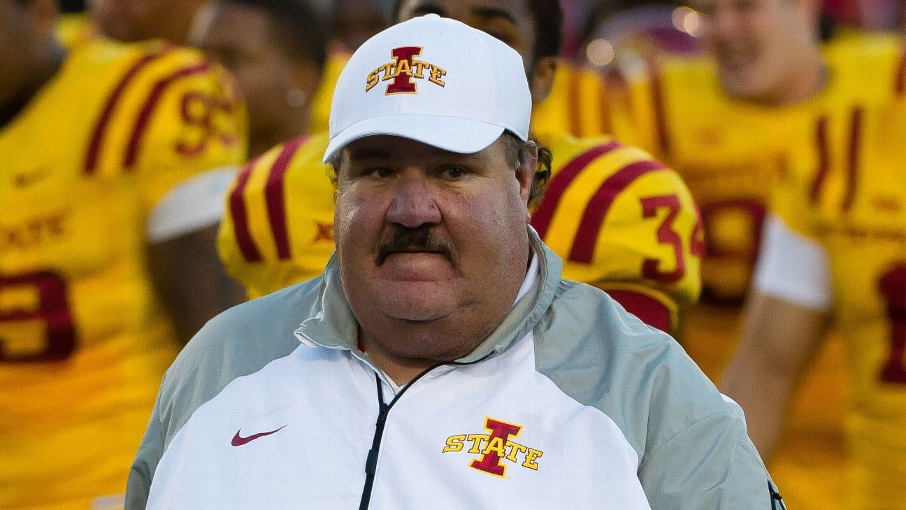 Iowa State Cyclones Fire Offensive Coordinator Mark Mangino