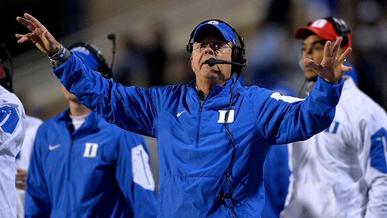 Duke thinking championships after unprecedented class