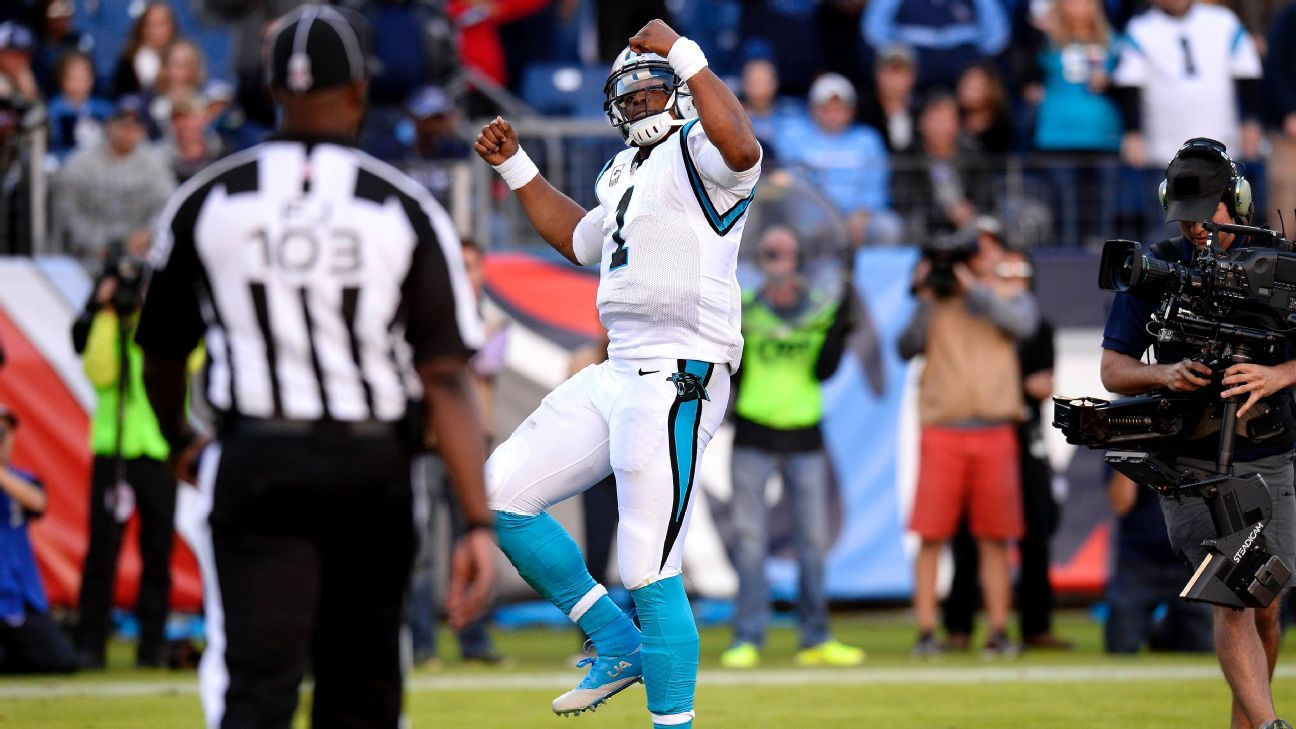 2ce52e94fe4 Carolina Panthers QB Cam Newton has no plans to stop dancing after  touchdowns