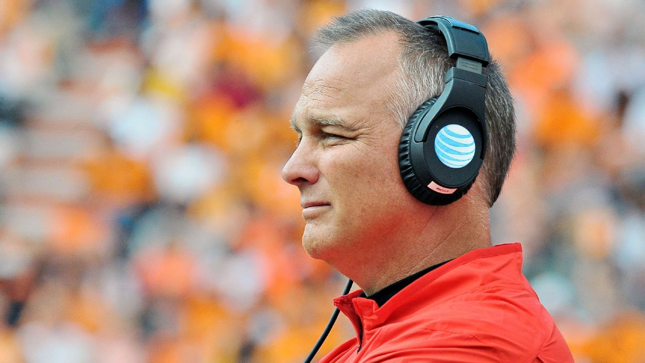 Former coach Mark Richt doing OK after heart attack