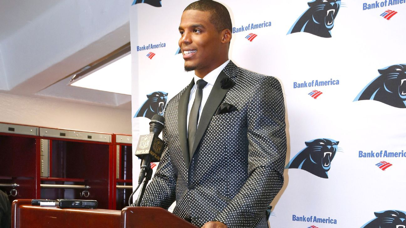 Panthers Cam Newton A Trendsetter With Clothes As Well As His Play Carolina Panthers Blog Espn
