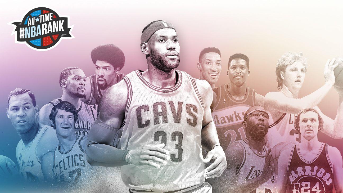 NBA: Ranking top 10 small forwards ever