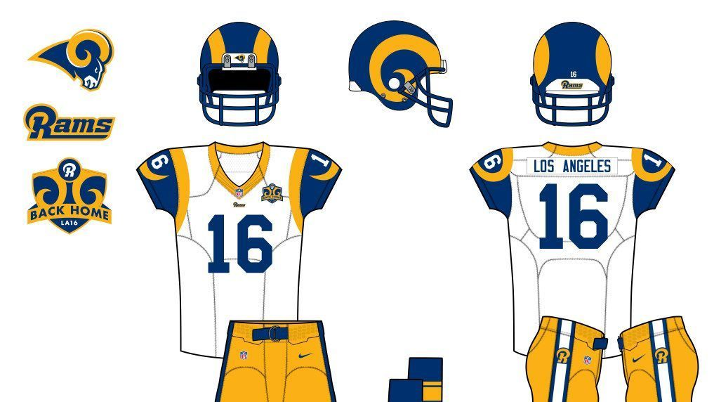 75d8925a2 Uni Watch contest results -- How you d redesign the Rams for return to Los  Angeles