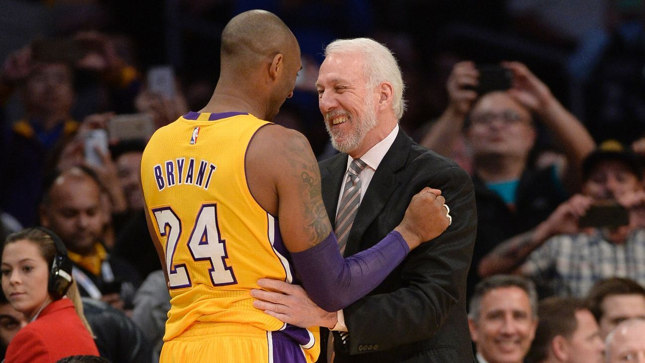 471c21e64d99 Gregg Popovich on Kobe Bryant   You can t help but just watch him  - San  Antonio Spurs Blog- ESPN