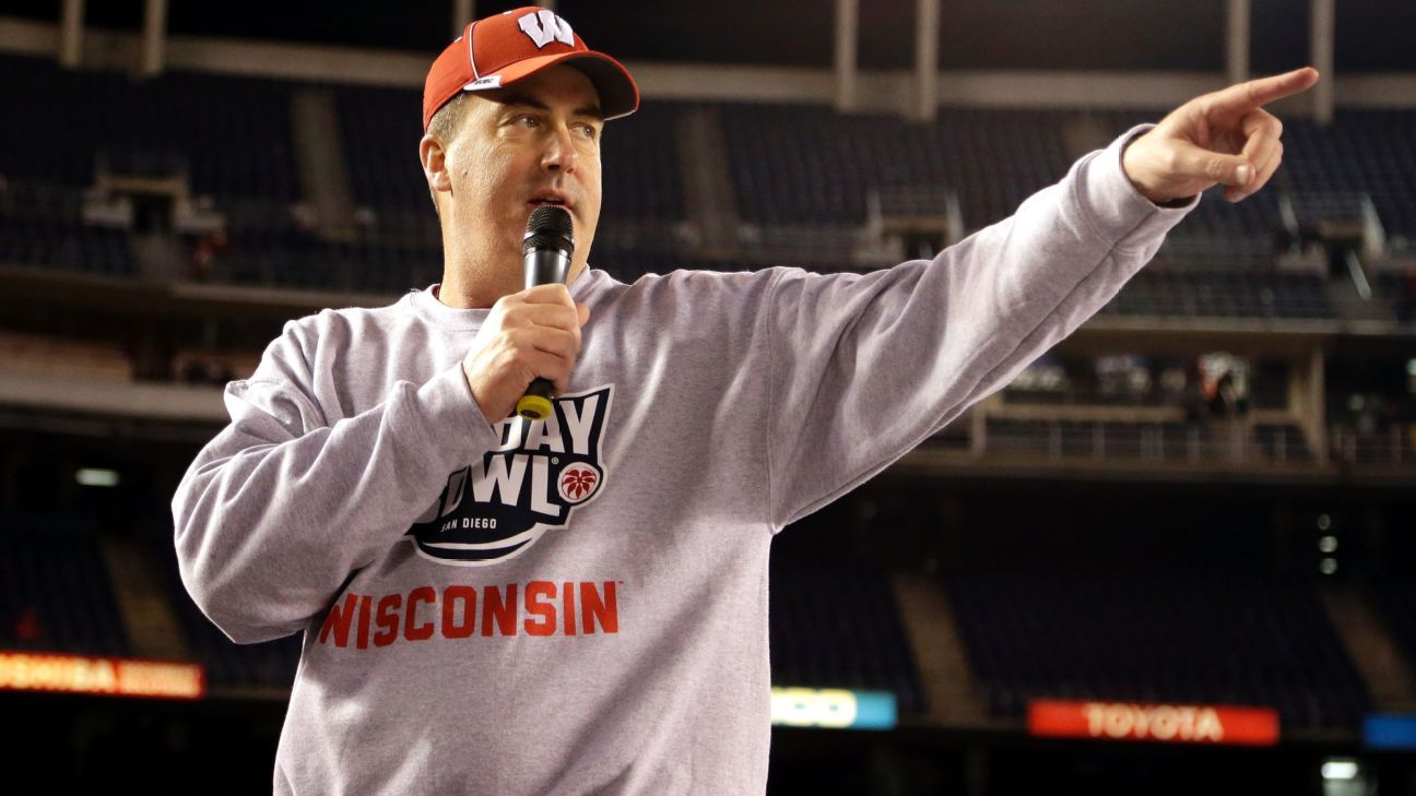 8080afda8d3 How the Wisconsin Badgers have made unapologetically unhip Paul Chryst cool
