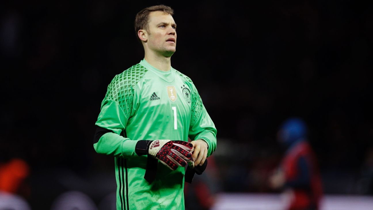 400a137d50a Manuel Neuer pulls out of Germany squad with stomach illness