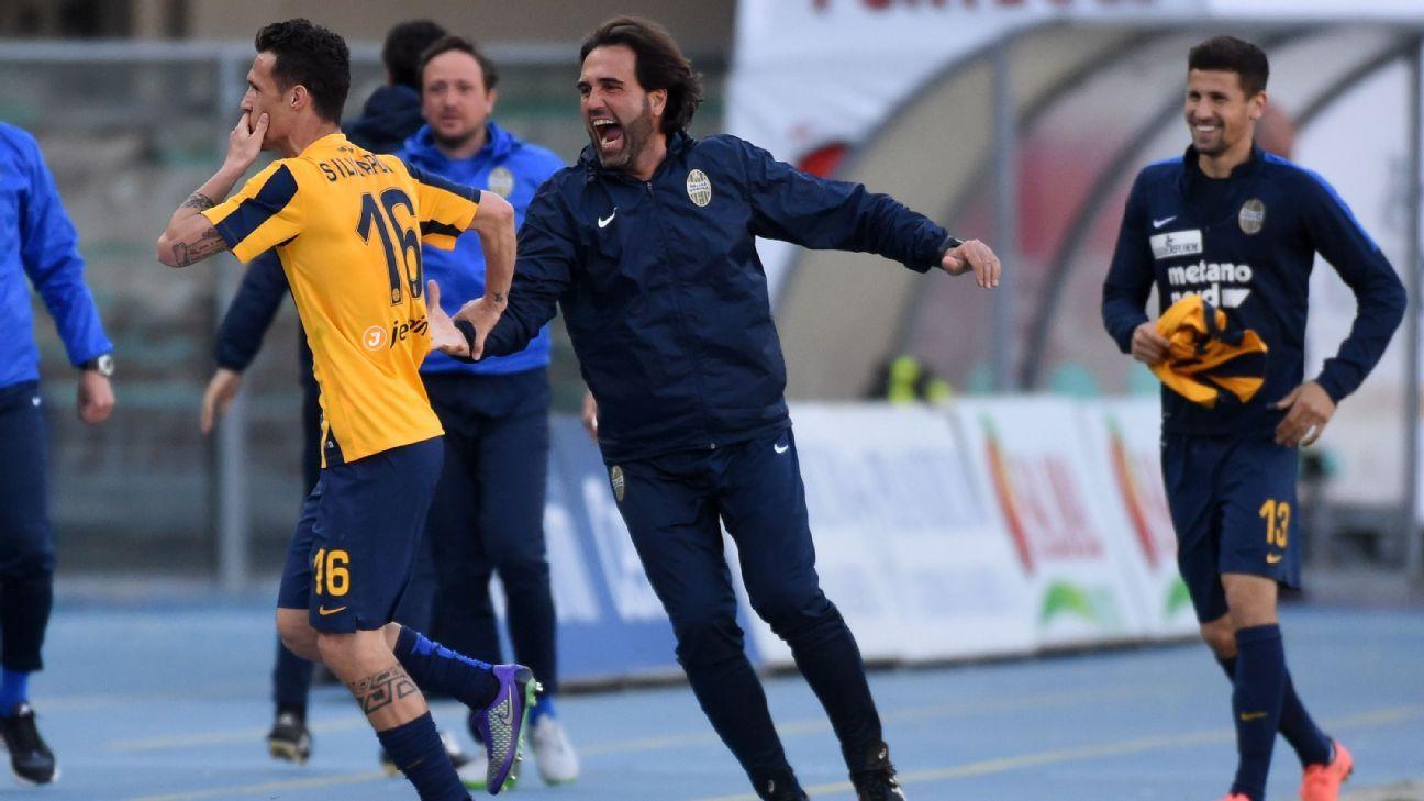Hellas Verona vs. AC Milan - Football Match Report - April ...